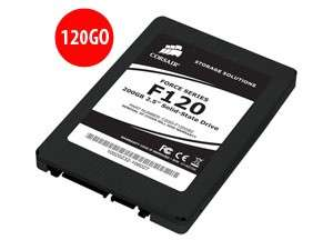 Disque SSD 2.5'' CORSAIR Force series - 120 Go - SATA II - Reconditionné