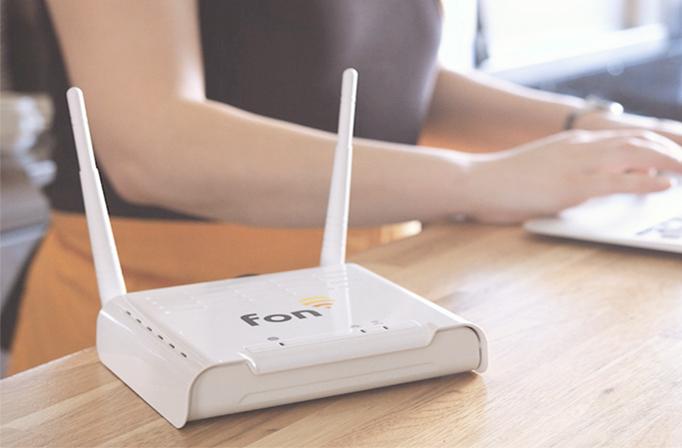 Service Wifi for business de Fonera