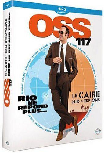Coffret Blu-Ray OSS 117: Le Caire, nid d'espions + OSS 117 : Rio ne répond plus