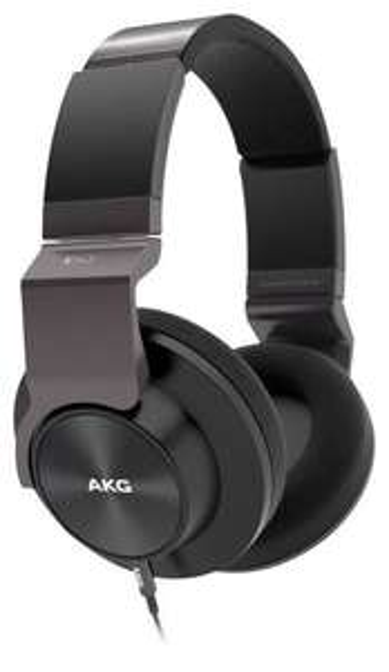 Casque circum-auriculaire AKG K545 Noir