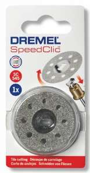 Disque diamant Dremel S545 - EZ speedclic matériaux 38 mm