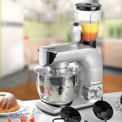 Robot de cuisine Quigg - 1200 W - 8 Vitesses