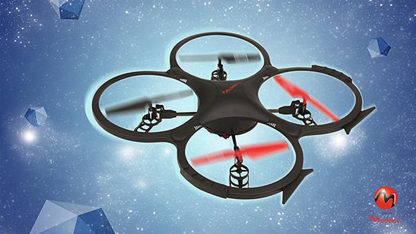 Drone radiocommandé quadricoptère modelco avec  caméra