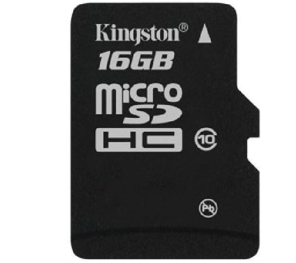 Carte Mémoire Micro SDHC Kingston 16 Go Classe 10