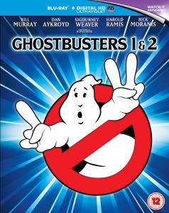 Coffret Blu-ray - Ghostbusters 1 et 2 (Remastérisée en 4K)