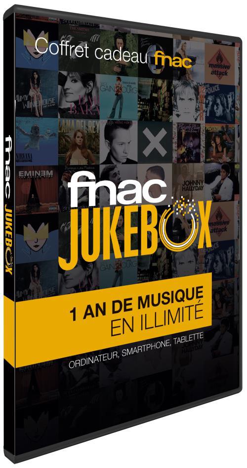 -50% sur les abonnements Fnac Jukebox - Ex : Un an