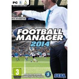 Jeu PC (dématérialisé) : Football manager 2014