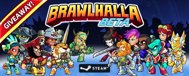 Brawlhalla beta offert sur PC (Dématérialisé - Steam)