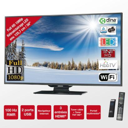 "TV 50"" Medion Life P18049 - Smart TV"