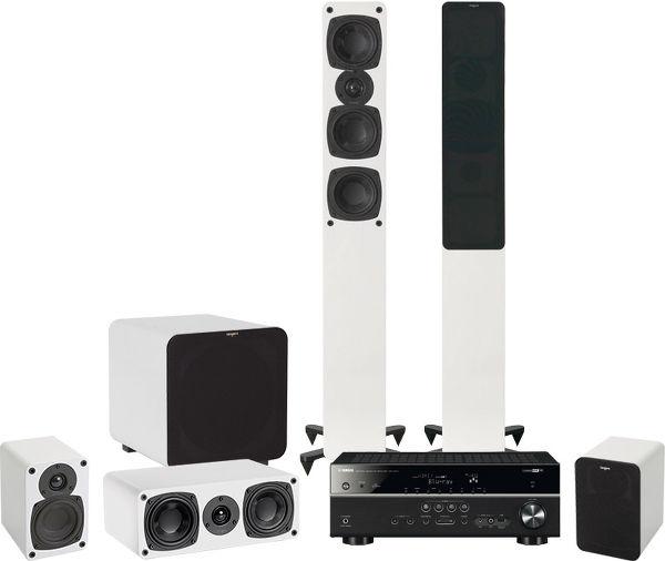Pack home cinéma Ampli Yamaha HTR-4067 + Pack 5.1 Tangent Evo