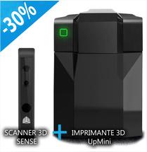 Imprimante 3D UP! Mini + Scanner 3D Sense