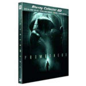 Prometheus Edition Boitier Métal Limitée (Blu-Ray 3D & 2D + DVD + Copie digitale) + 2 Blu-Ray gratuits