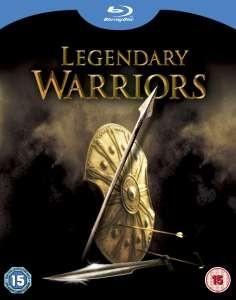 Coffret Blu-ray Legendary Warriors : Troie, 10,000, Le choc des Titans, 300
