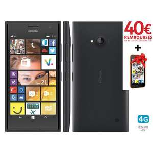 Smartphones Nokia lumia 735 (avec ODR 40€ + Nokia lumia 530 offert)