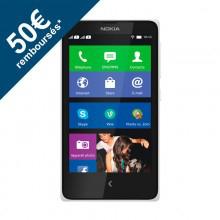Smartphone Nokia X - Blanc (avec ODR 50€)