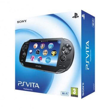 Console Sony PSVita OLED + Carte mémoire 4GO + Gravity Rush et Uncharted