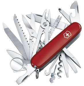 Couteau Suisse Victorinox Swiss Army Knife Champ (21 Pièces)