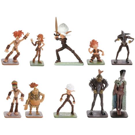 Pack de 10 figurines Arthur et les Minimoys