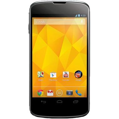 Smartphone Google Nexus 4 8Go + Bumper Officiel - Noir (Reconditionné)