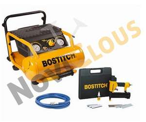 Lot bostitch cloueur/agrafeuse SB2IN1 et compresseur RC10E pour finition