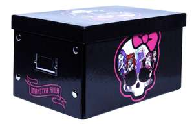Boîte Monster High Noir 30x20x16cm