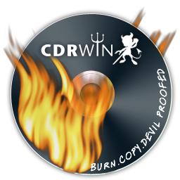 Logiciel pour graver des CD, DVD, Blu-Ray CDRWIN 10 gratuit (en anglais)