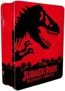 Coffret Blu-ray Collector métal - JURASSIC PARK Ultimate Trilogie (Blu-ray + Copies digitales) - 3 BD et 3 DVD