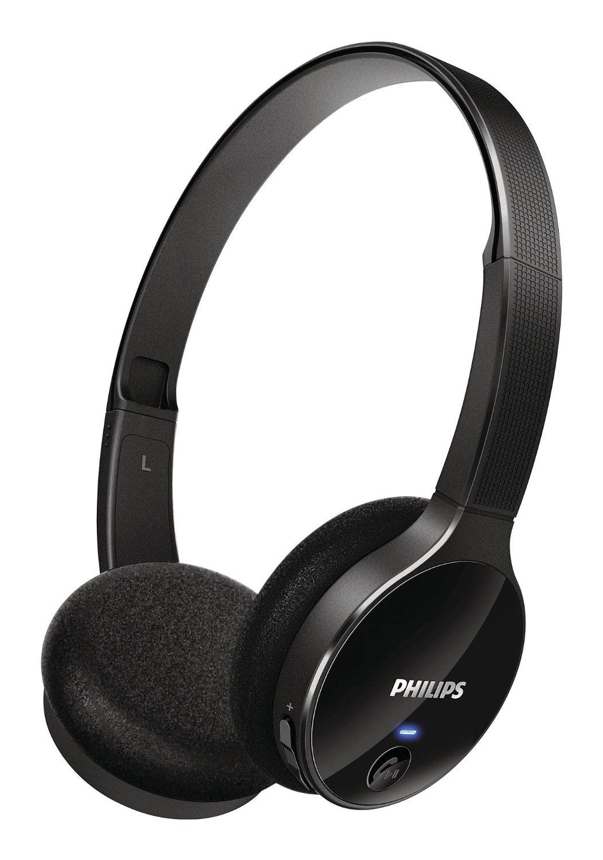 Casque Bluetooth 3.0 avec contrôle d'appel Philips SHB4000/10 Noir