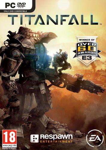 Jeu Titanfall sur PC version boite