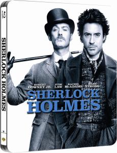 Blu-ray Sherlock Holmes et Je suis une légende  version Steelbook