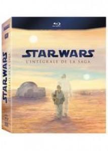 Star Wars - L'intégrale de la saga [Coffret 9 Blu-ray]