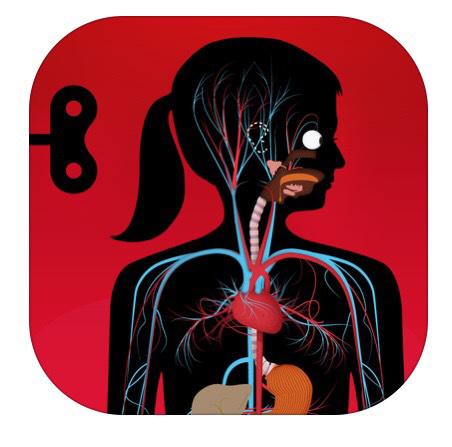 Application Le corps humain pour les enfants gratuite sur iOS