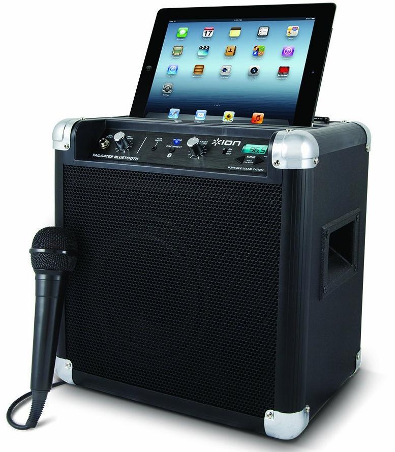 Enceinte compacte Bluetooth avec micro inclus Ion Audio Tailgater