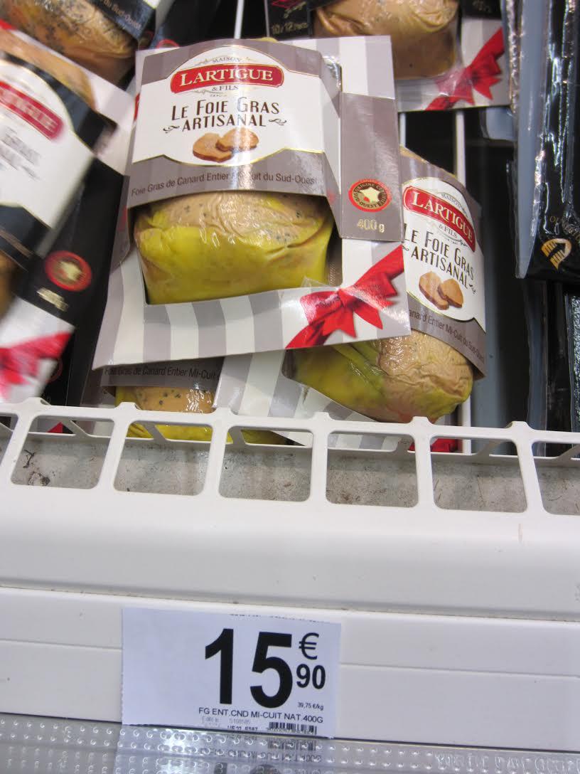 Foie gras Lartigue de canard entier mi-cuit IGP Sud-Ouest - Nature 400g