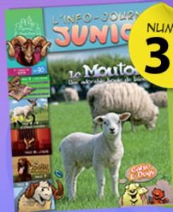 """""""L'info journal junior"""" Abonnement gratuit"""