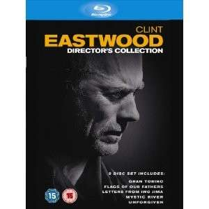 Coffret Blu-ray Clint Eastwood : The Director's Collection - 5 BD