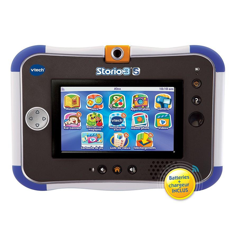 Tablette Enfant Vtech Storio 3S Bleue + Power Pack (+2ème jouet au choix 100% remboursé)