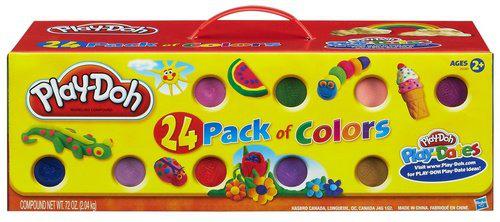 Pack de 24 pots pâte à modeler Play Doh