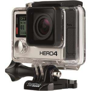Caméra sportive Gopro Hero 4 Black Edition - Adventure 12 Mpix -  Wifi - Bluetooth