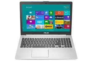 "PC portable 15.6"" Asus  K551LN-DM527H,  i5-4210U à 1,7 GHz (jusqu'à 2,7Ghz), Full HD, HDD 1To + SSD 24Go, GT 840M"