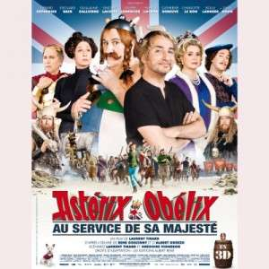 Astérix et obélix au service de Sa Majesté : au cinéma gaumont