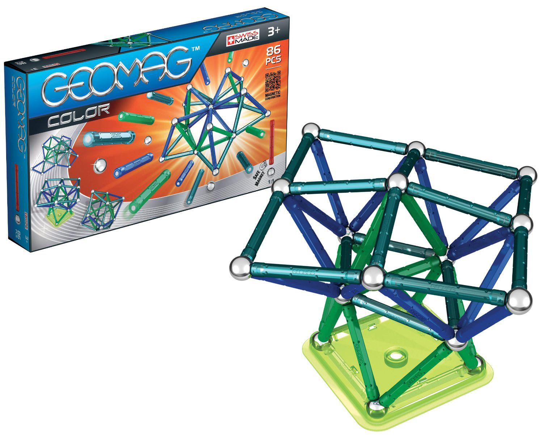 Jeu de construction Geomag Color 86 pièces