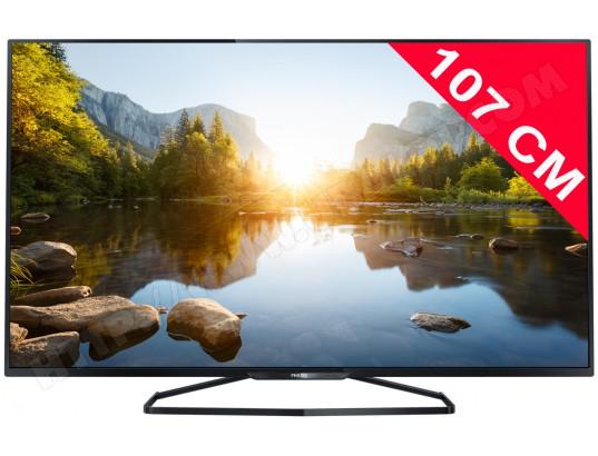 """Tv 42""""  PHILIPS 42PFH6109/88 -  LED - Full HD - 3D avec 4 paires de lunettes"""