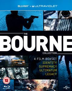 Sélection de coffret Blu ray (ex: Coffret Blu ray:  The Bourne Collection VO/VF à 10.96€)
