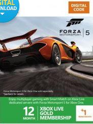 Abonnement Xbox Live Gold 12 mois + 1 mois gratuit