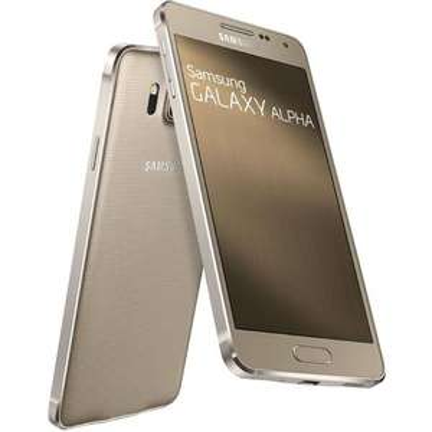 "Smartphone 4.7"" Samsung Galaxy Alpha Gold/Gris avec ODR (70€)"