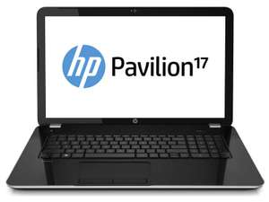 "PC portable 17.3""   HP Pavillon 17-E122NF - Core i3, RAM 4Go, HDD 500Go"