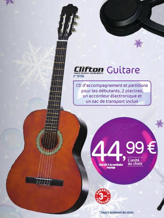 Kit Guitare classique débutant