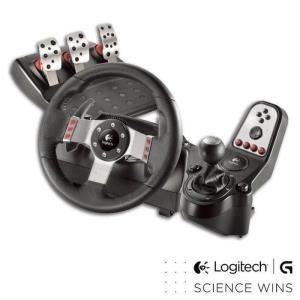 Volant + pédalier + levier Logitech G27 PC-PS3