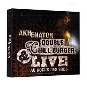 Album Akhenaton Double chill burger - Digipack - 2 CD + 1 DVD